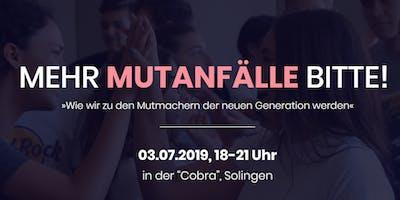 MEIN MUTIGER WEG - Non-Profit Event (Solingen)