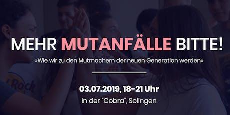 MEIN MUTIGER WEG - Non-Profit Event (Solingen) Tickets