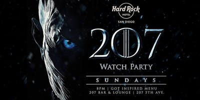Game of Thrones Viewing and After Party at Hard Rock