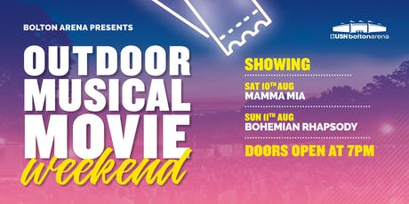 Bolton Arena's Outdoor Musical Movies Weekend - WEEKEND MOVIE PASS tickets