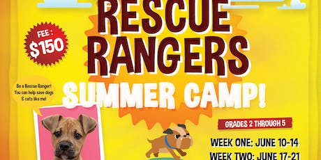 Rescue Rangers Summer Camp - Humane Society of Morgan County tickets