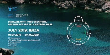Children First Academy — July 2019: Ibiza entradas