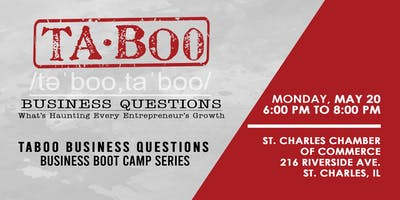 Taboo Business Questions - Business Boot Camp