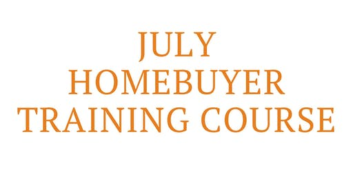 July Homebuyer Training Course (July 11, 18, 25)