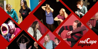 Red Cape Improvised Comedy and Theatre for Improvers