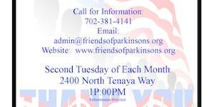 Veterans Monthly Support Group  Parkinson's (V.I.P.)
