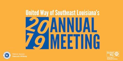 UWSELA's Annual Meeting 2019