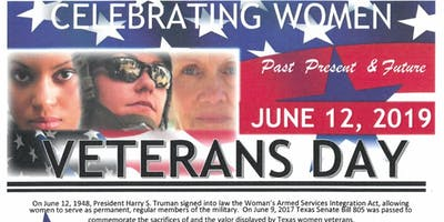 2nd Annual Women Veterans Day Celebration