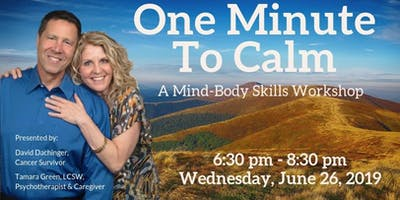 One Minute To Calm — Mind-Body Workshop