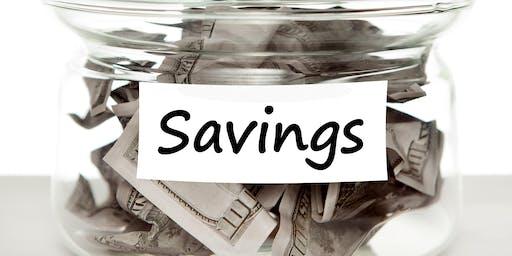 Sensible Savings Session, Central Piedmont Comm College, Charlotte, NC