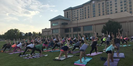 FREE Wine-Down Wednesday Yoga - Presented by: CorePower Yoga North Denver