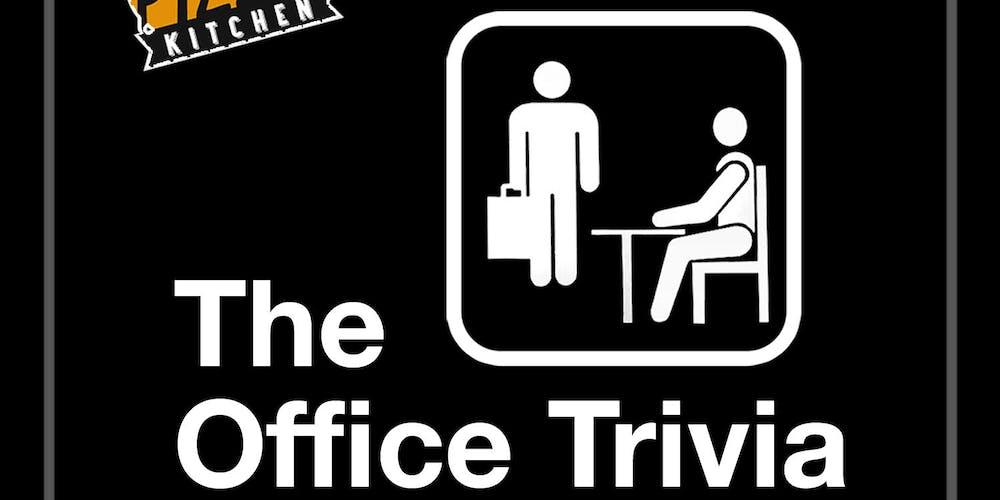 The Office Trivia At Italian Pizza Kitchen Roselle Tickets Mon May