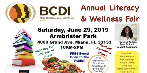 BCDI-Miami's Literacy and Wellness Event