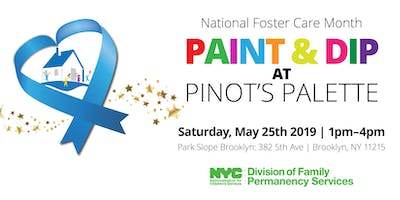 ACS Paint & Dip with NYC Foster Parents