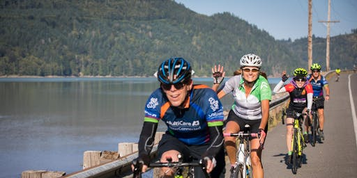 Courage MultiCare Training Ride - Puyallup to Mud Mountain Dam