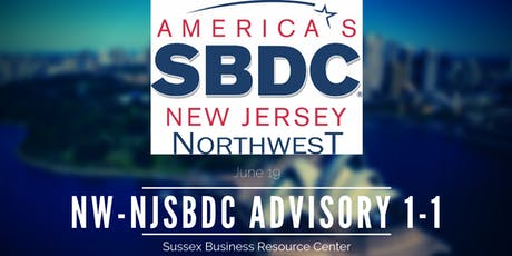 NW-NJSBDC One-on-One Advisory Services tickets