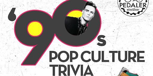 '90s Pop Culture Trivia at Pedaler Wine & Beer