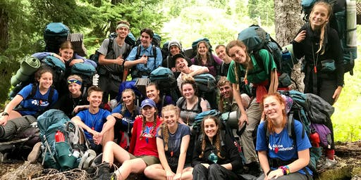 NatureBridge Alcoa Scholars 2019: Olympic National Park Session 2