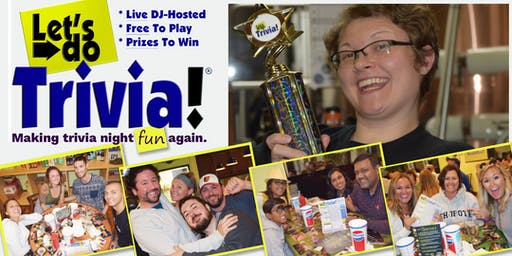 Let's Do Trivia! @ Fox's Pizza Den (Summer Hours)