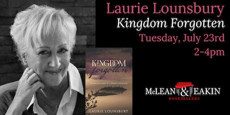 Laurie Lounsbury Book Signing tickets