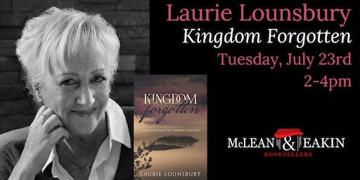 Laurie Lounsbury Book Signing