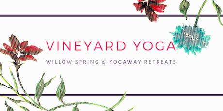 Vineyard Yoga tickets
