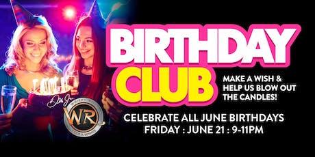 June VIP Birthday Bash 2019 tickets
