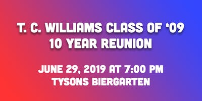 TC Williams Class of '09: 10 Year Reunion
