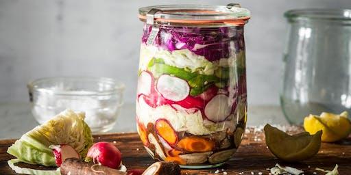 Introduction à la lacto-fermentation : choucroute, kimchi et légumes en saumure