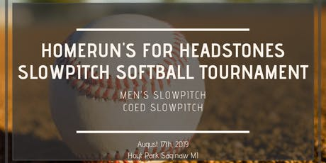 4th Annual Home Runs For Headstones Slow Pitch Softball Tournament tickets