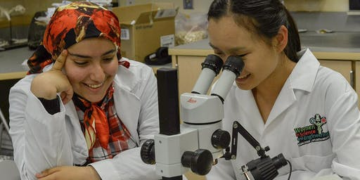 Senior Girls Get WISE Science Summer Camp