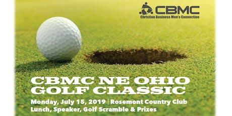 3rd Annual CBMC NE Ohio Golf Classic tickets