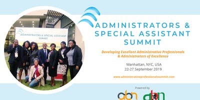 Administrators & Special Assistant Summit - 2019