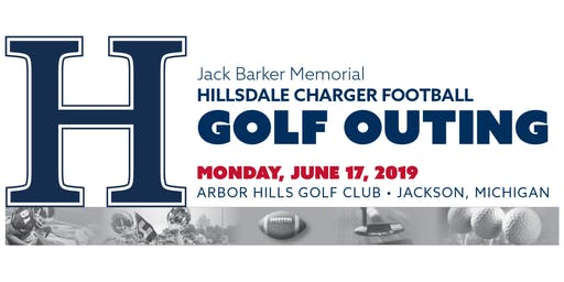 Jack Barker Memorial - Hillsdale College Football Golf Outing 2019