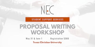 NEC's SSS Proposal Writing Workshop in Fort Worth, TX on May 31 & June 1, 2019