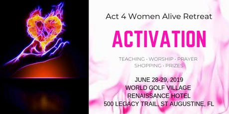 Act4 Women Alive Activation Retreat tickets
