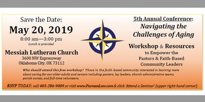 5th Annual Pastoral Care Conference - Navigating the Challenges of Aging