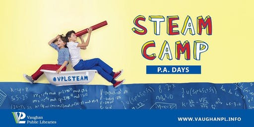 STEAM Camp: P.A. Days at Civic Centre Resource Library