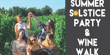 Summer Solstice Wine Walk tickets