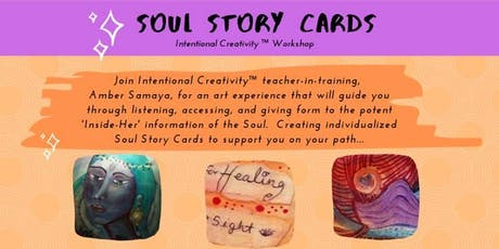 Soul Story Cards - Intentional Creativity™ Experience tickets
