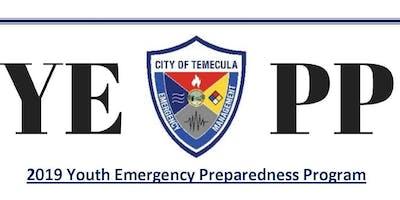 2019 Youth Emergency Preparedness Program (YEPP)