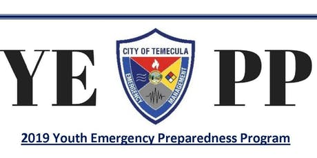 2019 Youth Emergency Preparedness Program (YEPP) tickets