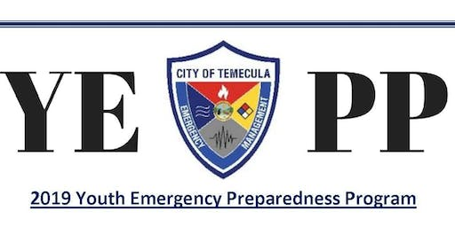 2019 Youth Emergency Preparedness Program (YEPP)
