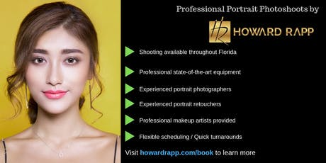 Casting Portrait Models in South Florida tickets