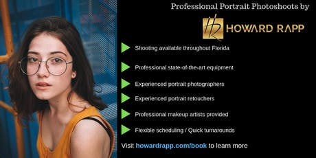 Stunning Portrait Photoshoots in Miami  tickets