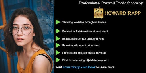 Stunning Portrait Photoshoots in Miami