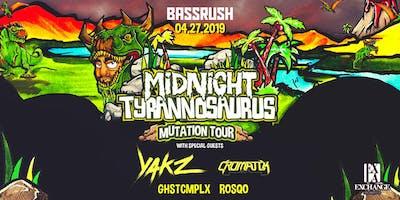 Midnight Tyrannosaurus Mutation Tour