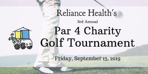 Reliance Health's 3rd Annual Par 4 Charity Golf Tournament