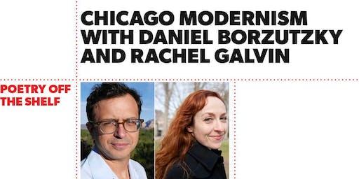 Poetry Off the Shelf: Daniel Borzutzky and Rachel Galvin