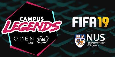 Campus Legends 2019: FIFA19 - NUS Qualifiers tickets